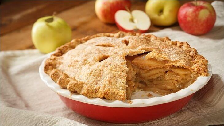 طريقة عمل فطيرة التفاح ومربى التفاح
