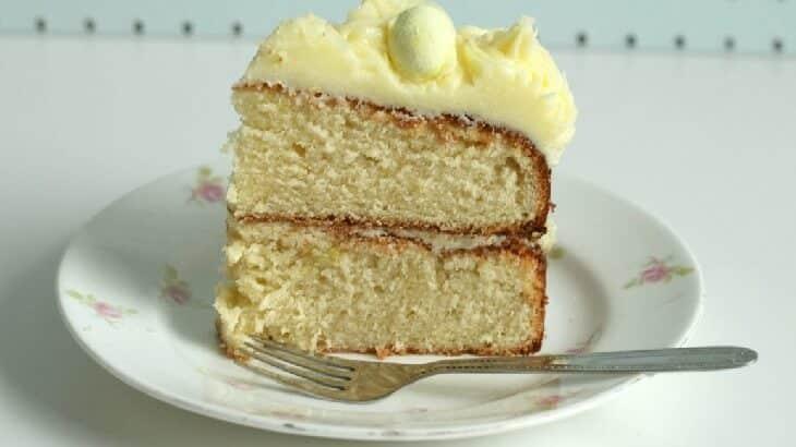 طريقة عمل الكيكة بالشربات بالصور