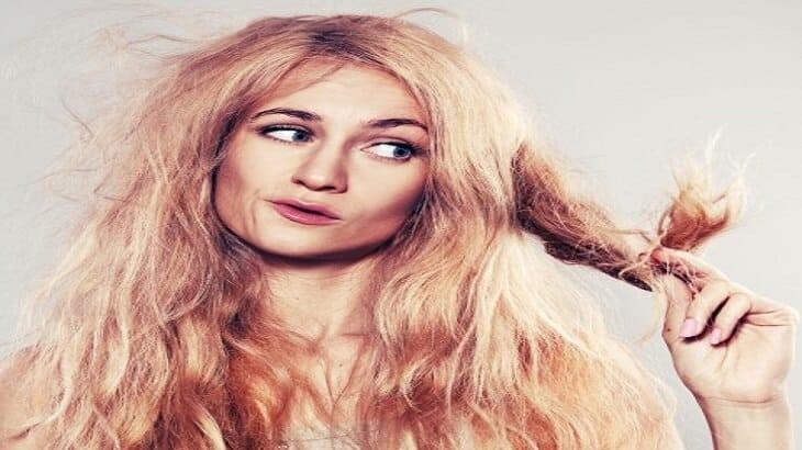 6 وصفات لعلاج تقصف الشعر وجفافه
