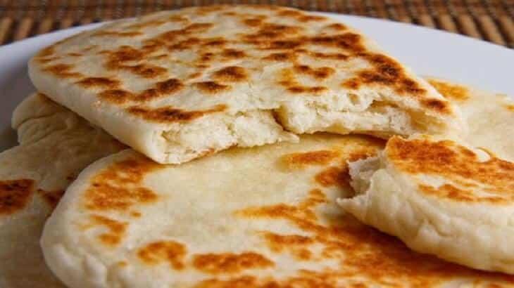 طريقة عمل الخبز الهندي بالصور والخطوات