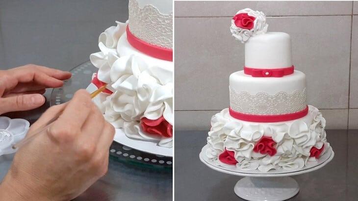 طريقة عمل الكريمة لتزيين الكيك بالصور والخطوات