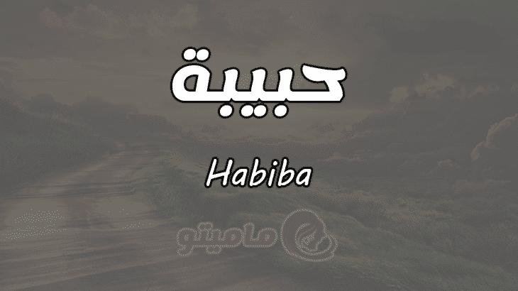 ما معنى اسم حبيبة Habiba وأسرار شخصيتها ماميتو