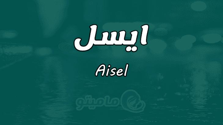 معنى اسم ايسل Aisel وصفات حاملة الاسم