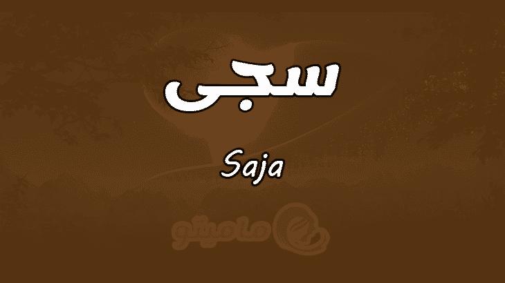 معنى اسم سجى Saja بالتفصيل