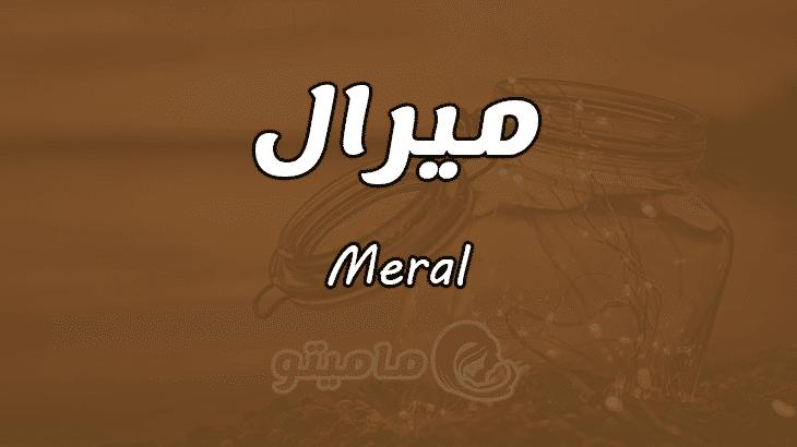 معنى اسم ميرال Meral وأسرار شخصيتها
