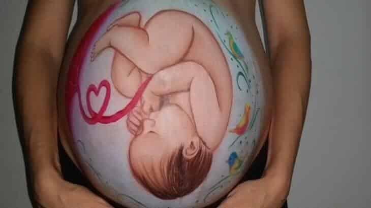 حركة الجنين والنمو في الاسبوع السابع والثلاثين من الحمل