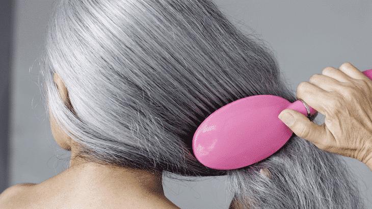علاج الشعر الابيض المبكر نهائيا بالاعشاب