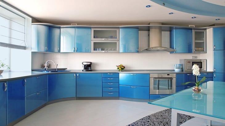 فن ترتيب المطبخ الصغير والكبير بالصور