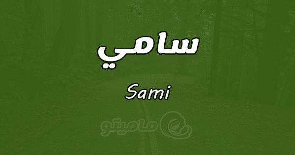 معنى اسم سامي Sami وصفاته حسب علم النفس