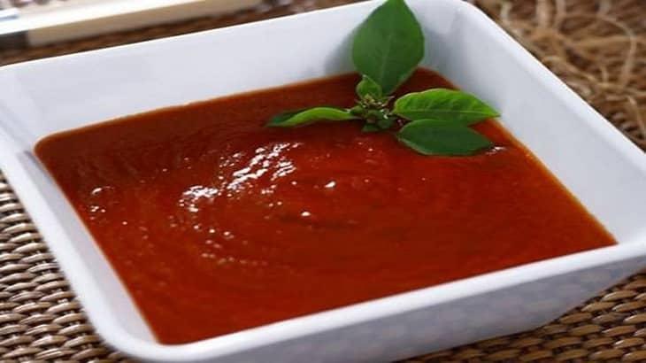 طريقة عمل شوربة الطماطم بالصور والخطوات