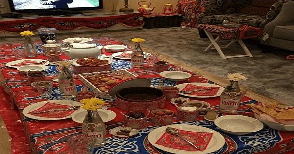 افكار بقماش رمضان الخيامية بالصور