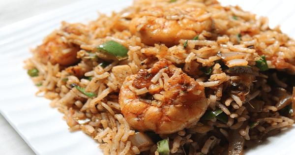 طريقة عمل ارز السمك البني بالصور والخطوات