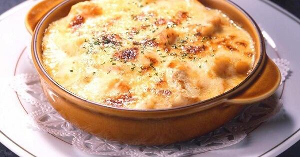 طريقة عمل القرنبيط بالجبنة الموتزاريلا بالصور