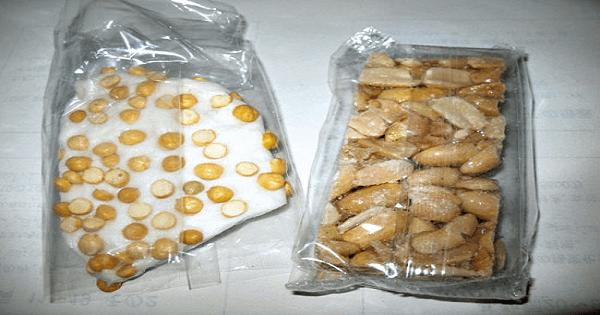 طريقة عمل حلاوة المولد الحمصية البيضاء في المنزل