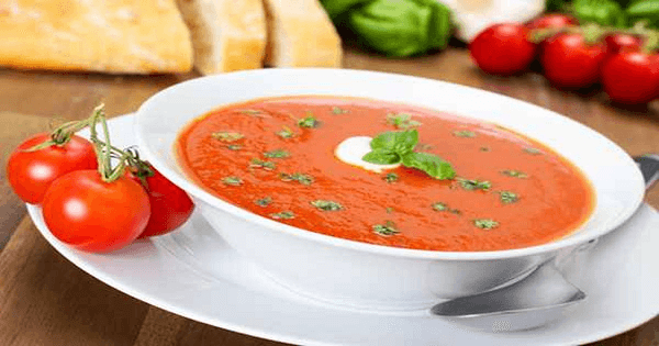 طريقة عمل شوربة الطماطم بالصور خطوة بخطوة