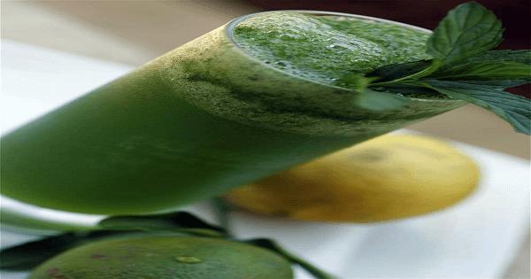 طريقة عمل عصير الليمون بالنعناع المثلج بالصور