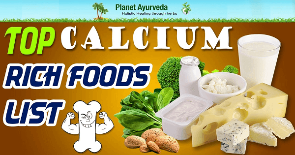أفضل 7 اطعمة غنية بالكالسيوم غير الحليب