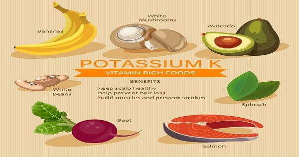 الاغذية التي تحتوي على البوتاسيوم بنسبة عالية