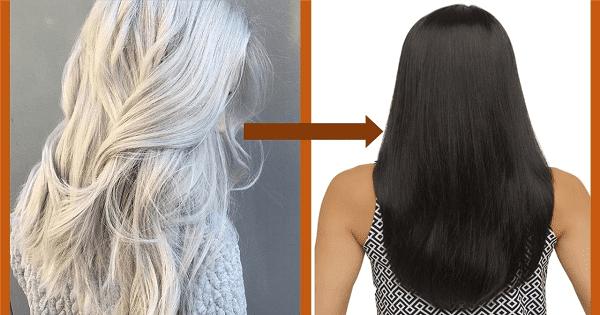 التخلص من الشعر الابيض في يومين بدون صبغة