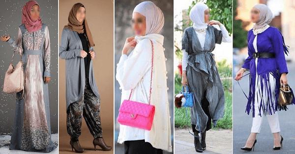 تناسق الوان الملابس مع الطرح للمحجبات