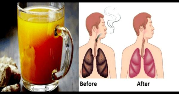 تنظيف الرئتين من اثار التدخين بالحليب والأعشاب