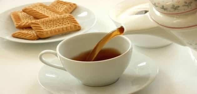 طريقة عمل بسكويت الشاي سهل بدون بيض