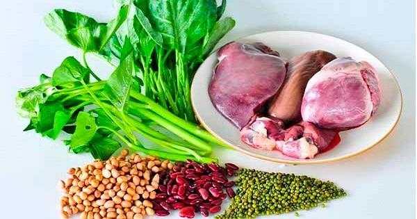 9 اغذية غنية بالحديد لعلاج فقر الدم نهائيا