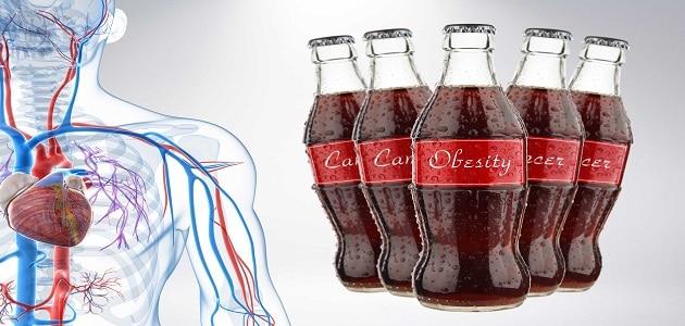 أضرار المشروبات الغازية على الكلى والعظام