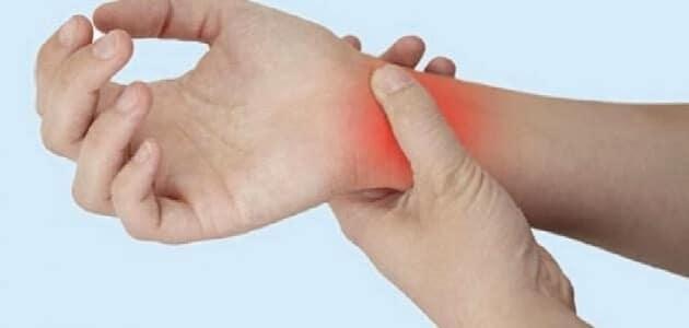 أعراض إلتهاب الأعصاب في اليد وعلاجه بالأعشاب