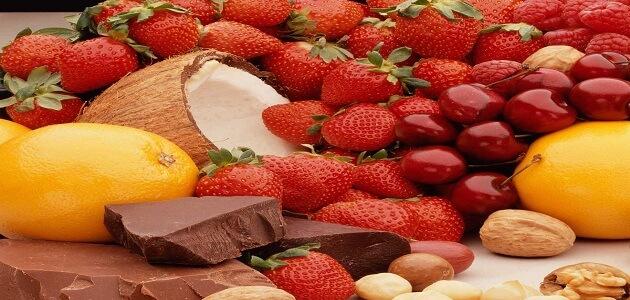 أفضل الأغذية المضادة للأكسدة في الغذاء