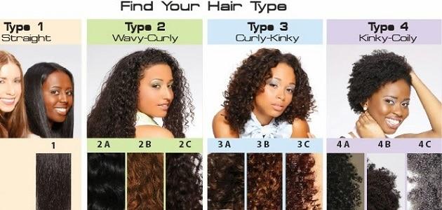 أنواع الشعر للنساء وكيفية الإعتناء به