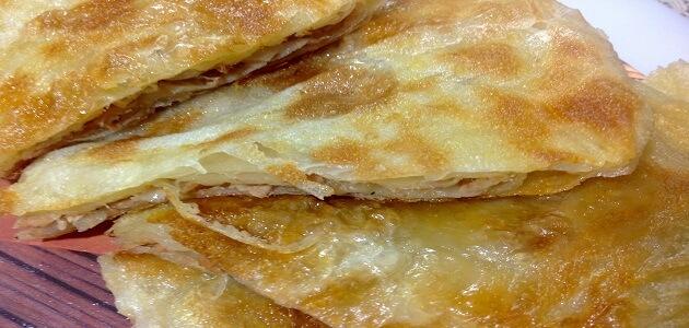 طريقة عمل الفطير بالجبنة الرومى بالصور والخطوات