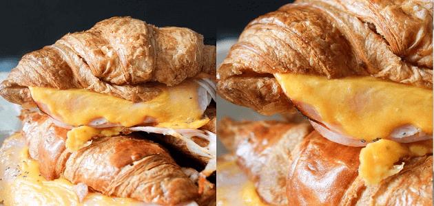 طريقة عمل الكرواسون بالجبنة بالصور خطوة بخطوة