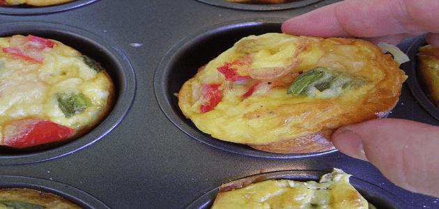 طريقة عمل عجة البطاطس والبيض في الفرن