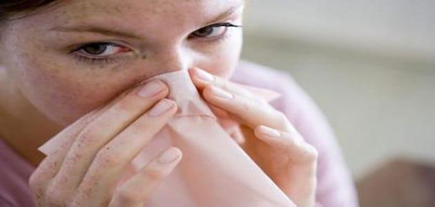 علاج جفاف الأنف الشديد وانسدادها من الخارج