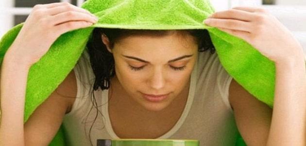 فوائد البخار للبشرة الدهنية