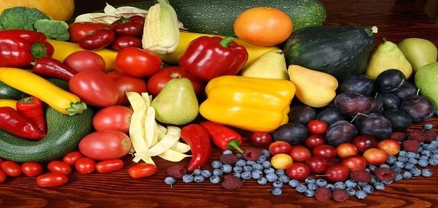 فوائد الخضروات الطازجة للجسم
