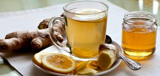 فوائد الزنجبيل الأخضر مع الليمون