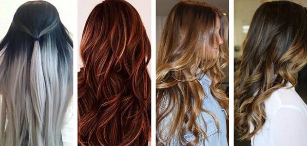 كيفية صبغ الشعر باللون الكستنائي