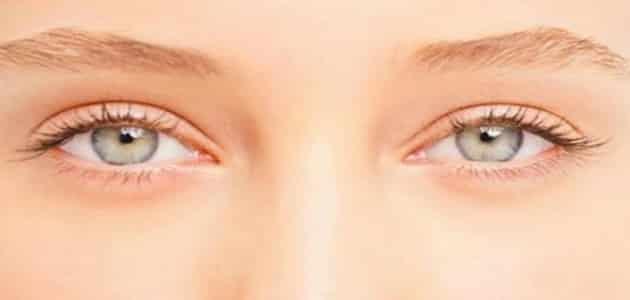 أسباب رفة الجفن العلوي والسفلي للعين