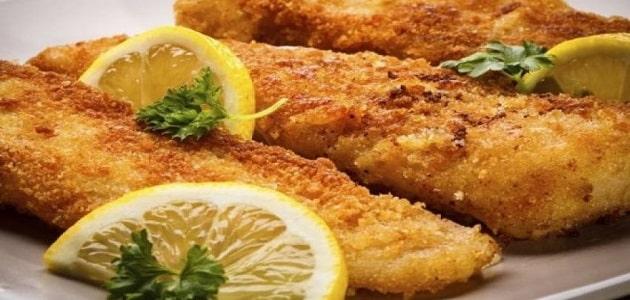 طريقه عمل السمك الفيليه المشوي والمقلي في المنزل