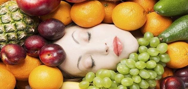 فوائد الفواكه لنضارة البشرة