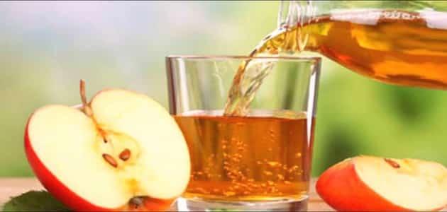 فوائد خل التفاح مع الماء قبل النوم لشد الجسم