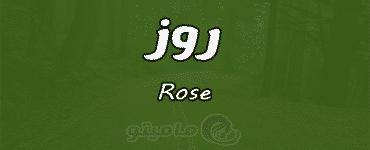 معنى اسم روز Rose وشخصيتها في علم النفس