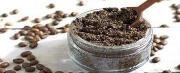 مقشر القهوة والسكر للوجه والجسم