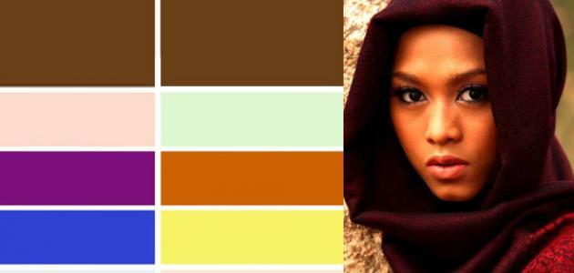 ألوان العدسات التي تناسب البشرة السمراء والبيضاء