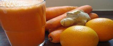 طريقة تخزين الجزر والبرتقال في الفريزر