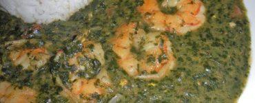 طريقة عمل الملوخية بالجمبري شهية ولذيذة