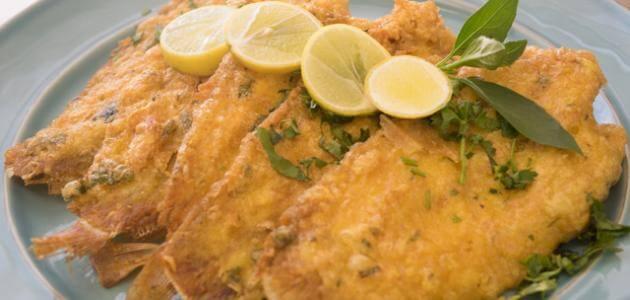 طريقة عمل سمك موسى بالزيت والليمون بالفرن