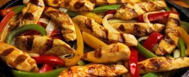 طريقة عمل فاهيتا الدجاج بالمشروم